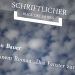 Jürgen Bauer, Autor: Pressestimmen
